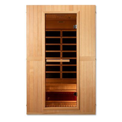 Dynamic Infrared Maxxus Serenity Dual Tech 2 Person Low Emf Far Infrared Sauna Wayfair Sauna Infrared Sauna Sauna Design