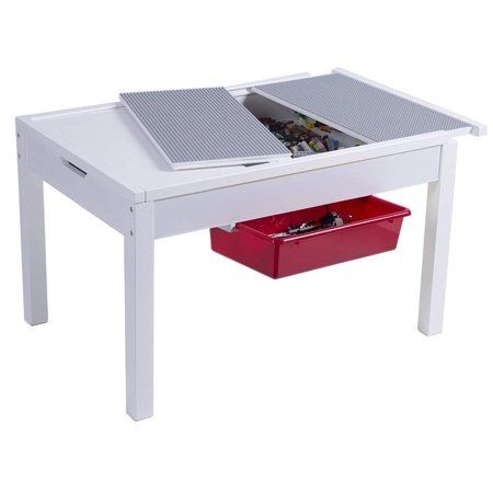 Utex Kids 2 In 1 Large Activity Table, Utex Lego Table With Chairs