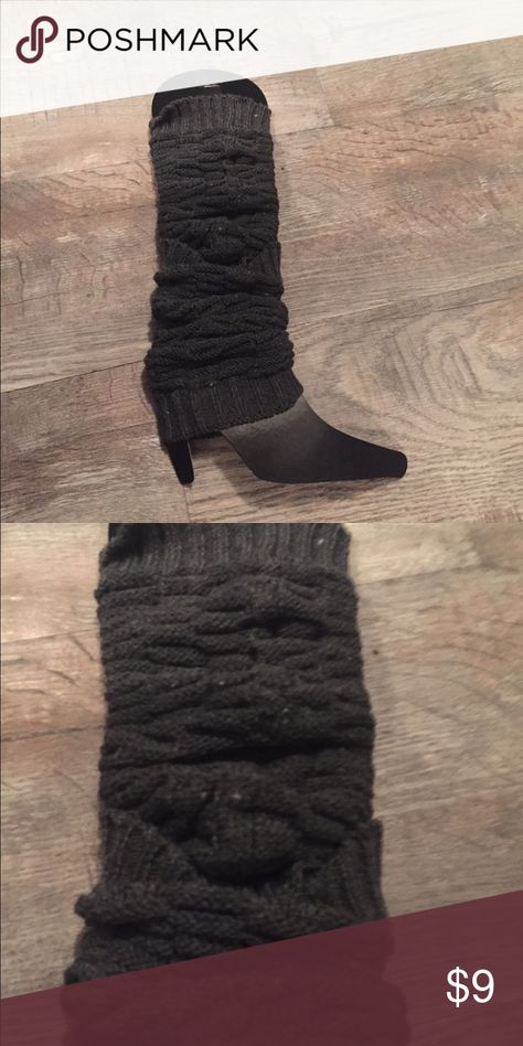 Rampage leggings boot cuffs nwt Rampage leggings boot cuffs nwt  gray Rampage Other