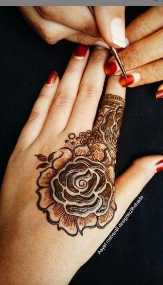 مجموعة من رسومات الحناء Hand Tattoos Henna Hand Tattoo Hand Henna
