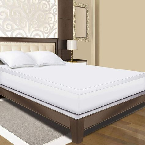 Sleep Innovations Gel Memory Foam Mattress Topper Mattress Foam