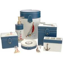 Nautical Theme Vacation Home Interiors For The Pinterest Bathroom Accessories Anchor And Decor