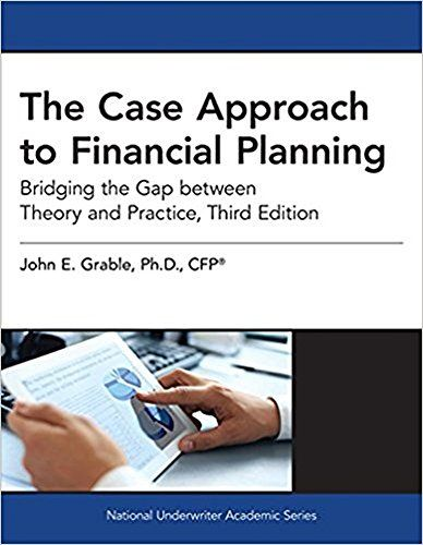 Download Pdf The Case Approach To Financial Planning Bridging The