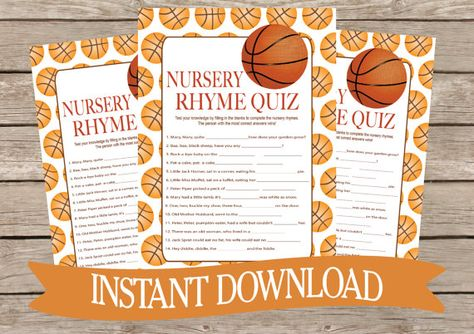 This Item Is Unavailable Etsy Basketball Baby Shower Baby Shower Game Cards Fun Baby Shower Games