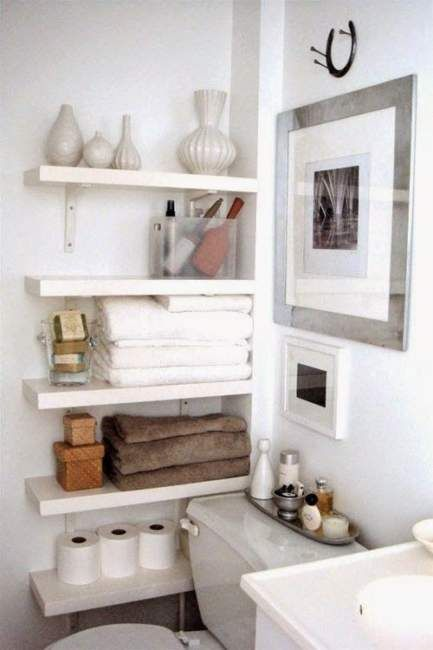 25 Clever Small Bathroom Storage Ideas And Wall Storage Solutions Home Decor Home Decor
