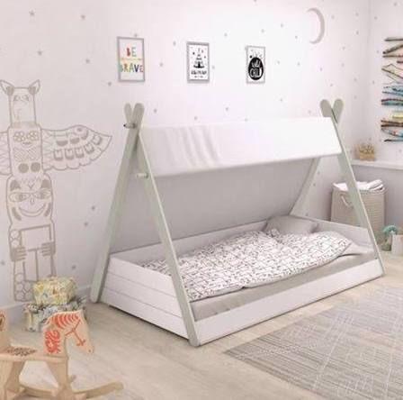 Teepee Toddler Bed Toddler Floor Bed Diy Toddler Bed Toddler Rooms