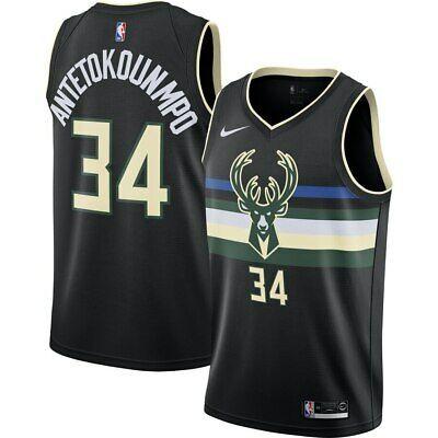 Ad Ebay Link Milwaukee Bucks Giannis Antetokounmpo 34 Nike Men S Nba Swingman Player Jersey In 2020 Milwaukee Bucks Jersey Nike Men