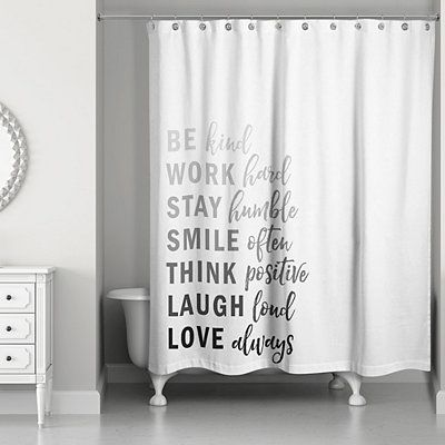 Kind List Gray Shower Curtain In 2020 Gray Shower Curtains