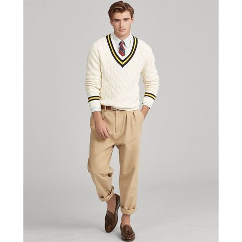 New Style Preppy Men Sweaters Ideas Preppy Outfits, Preppy Style, Sport Outfits, Fall Outfits, Cashmere Sweater Men, Men Sweater, Cricket, Preppy Mens Fashion, Men's Fashion