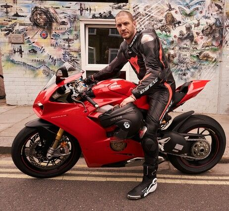 A Badass Hot Bike With An Incredibly Man Sitting On It