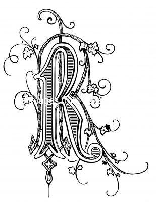 Image Details Karen S Whimsy Decorative Letters Art Art Drawings