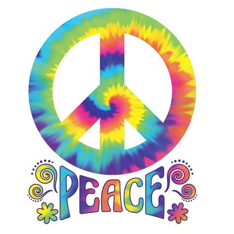30 FEELING GROOVY CUTOUTS PEACE SIGNS 60/'S 70/'S PARTY HANGING DECORATIONS HIPPIE
