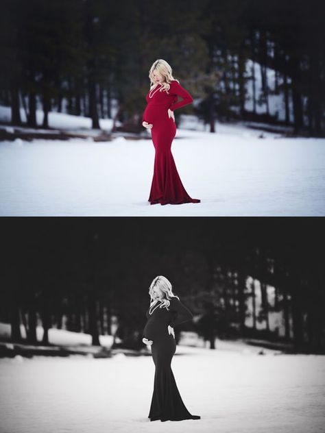 ebb7cd10d8802 20 Sweetest Winter Wonderland Maternity Photo Session That Look Adorable |  Pregnancy | Maternity Photography, Winter maternity photos, Pregnancy photos
