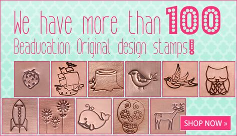 Pinning this so I remember this shop! So many fantastic metal stamping ideas and tools, + free online classes.