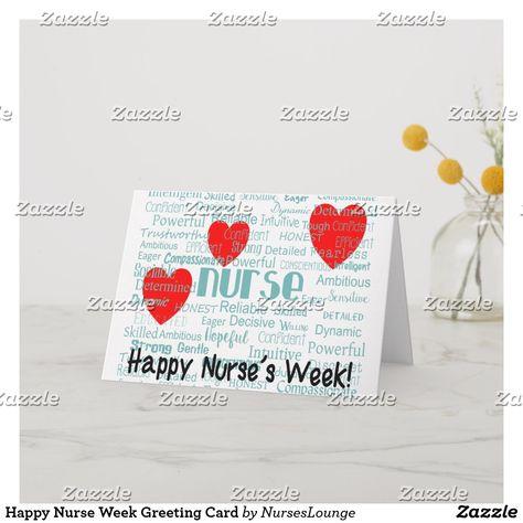 Matte Pack of 20 Pk of 20 - Blank Note Cards CafePress Happy Nurses Week Note Cards