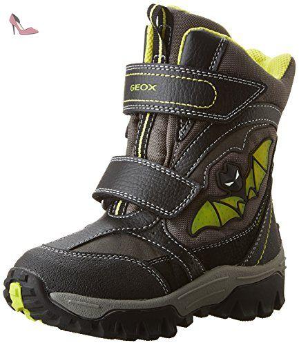 Geox B Gulp B ABX B, Chaussures Marche Bébé Garçon, Grau (DK Grey/ROYALC0071), 21 EU