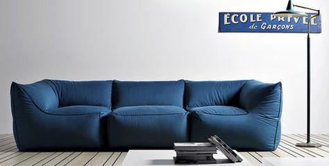 modul-sofa / modern / für innenbereich / textil trio by team form ... - Designer Couch Modelle Komfort