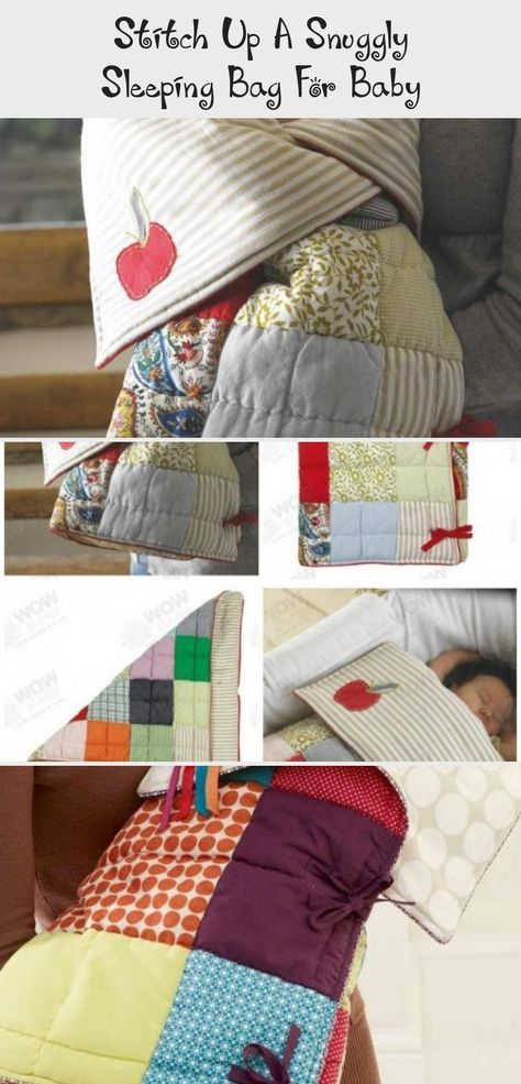 Stitch Up A Snuggly Sleeping Bag For Baby Babypflege Und Baby