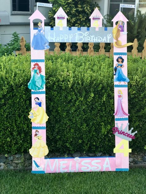 Items similar to Princess Ariel Belle Jasmine Snow White C Princess Birthday Party Decorations, Disney Princess Birthday Party, Princess Theme Party, Cinderella Birthday, 4th Birthday Parties, Birthday Crowns, 5th Birthday, Disney Princess Centerpieces, Birthday Ideas