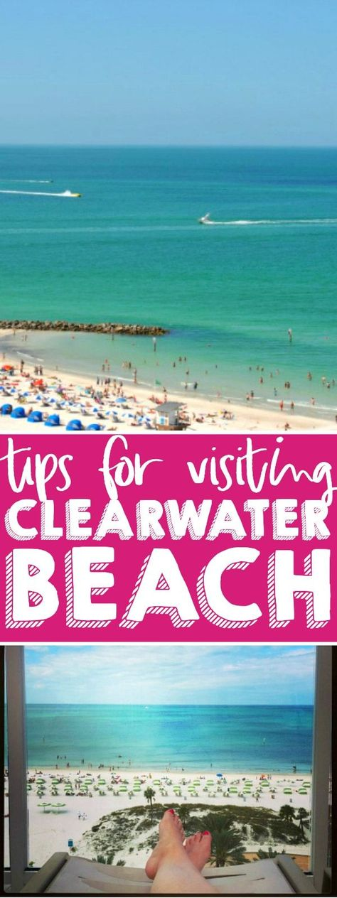 Tips for Visiting Clearwater Beach Florida - Sun sandy beaches and fabulous views its a great Florida destination! Im sharing great Clearwater Beach restaurants and attractions. Plus our favorite Clearwater Beach hotel! Clearwater Beach Restaurants, Destin Florida Restaurants, Destin Florida Vacation, Clearwater Beach Florida, Destin Florida Wedding, Panama City Beach Florida, Beach Vacation Rentals, Florida Travel, Florida Beaches