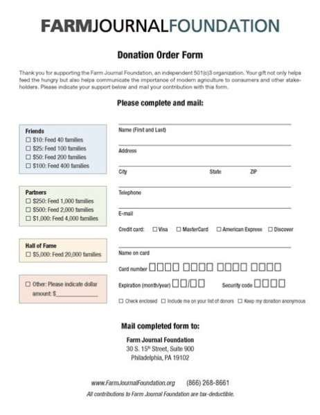 6 Charitable Donation Form Templates Free Sample Templates Donation Form Charitable Donations Microsoft Word Document