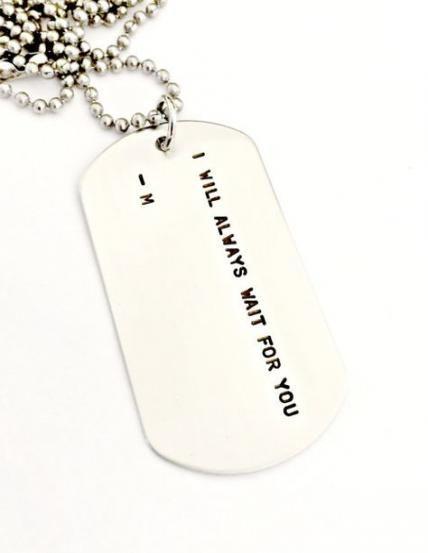 25 Ideas For Diy Dog Tag Necklace Hands Diy Boyfriend Gifts
