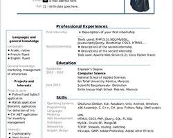 Cv Template Libreoffice Resume Format Resume Templates Cv Template Resume Template Professional