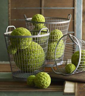 Moss Balls Cattail Balls Decorative Accents Organic Pop Of