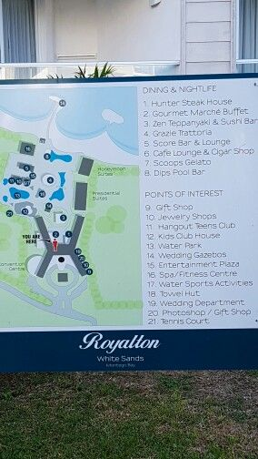 Royalton White Sands Resort Map Royalton White Sands Jamaica map | Royalton White Sands Jamaica