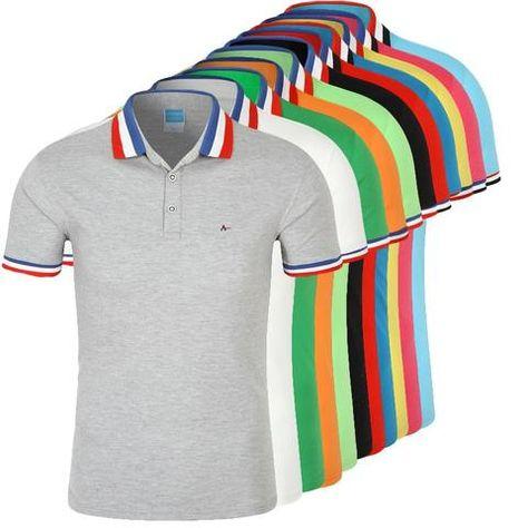 cb18d2f85f DUDALINA Polo Shirt Men Camisa Polos Masculina De Marca Sergio k Cotton  Men's Casual Business Short-Sleeved White Black Polo