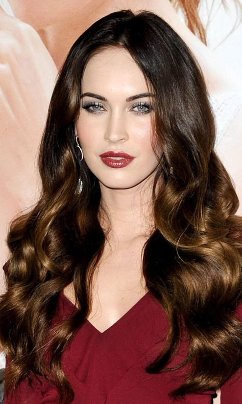 HAIR EXTENSIONS: IDEAS AND INSPIRATION Brunette hair inspiration: Megan Fox
