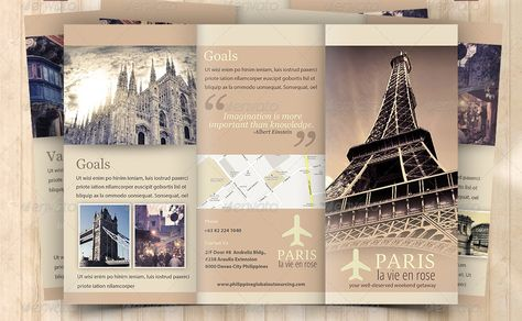 8 best Brochure images on Pinterest African, Brochures and Adventure - sample travel brochure