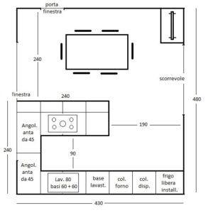 Una Penisola In Cucina Lineatre Kucita Gli Esperti Dell Arredamento Planimetrie Cucina Cucine Design Del Prodotto