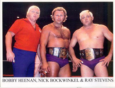 Nick Bockwinkel and Ray Stevens | Bobby heenan, Pro wrestling, Awa wrestling