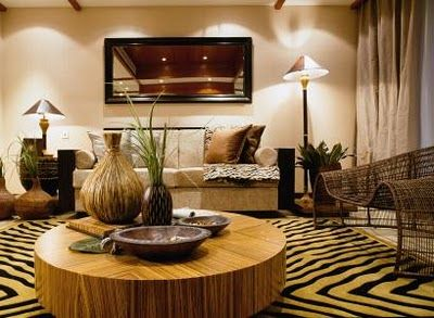 Furniture | African living rooms, African home decor ...