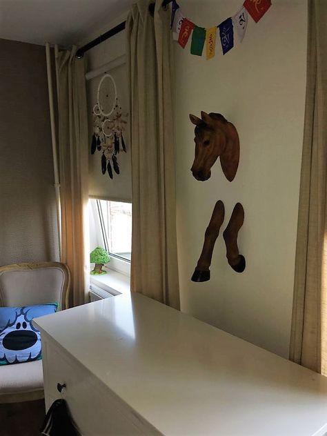 3d Muurdecoratie Kinderkamer.3d Muurdecoratie Paard Kinderkamer In 2019 Paarden