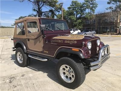 Ebay 1979 Jeep Cj Golden Eagle 2019 Jeep Cj 7 Golden Eagle Jeep