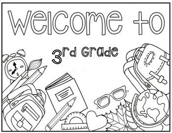 Beautiful Coloring Pages 3rd Grade