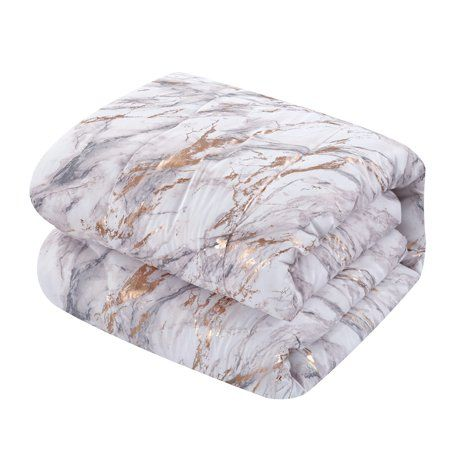 Home Marble Comforter Comforter Sets Rose Gold Marble