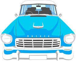フリーイラスト ヴィンテージのアメ車 パブリックドメインq 著作権フリー画像素材集 イラスト 車 イラスト アメ車