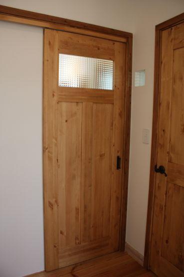 室内ドア 建具 茨城で注文住宅なら自然素材の家を建てるエフリッジ