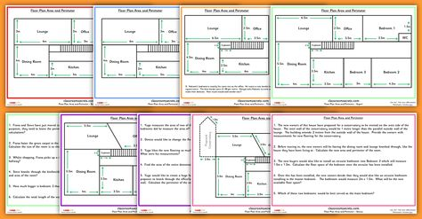 Differentiated Year 5 Floor Plan Area and Perimeter Challenge ...