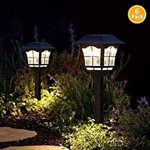 Sunpo Solar Pathway Lights Outdoor Or Solar Lights Outdoor Or Solar Garden Lights Or Solar La Solar Landscape Lighting Solar Lights Garden Solar Pathway Lights