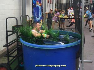 How To Fill A Dunk Tank With Slime Dunk Tank Dunk Dunking Machine