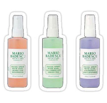 Mario Badescu Spray Set Sticker Preppy Stickers Bubble Stickers Hydroflask Stickers