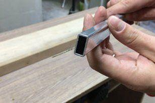 How To Make A Table Saw Fence For Homemade Table Saw Avec Images Table De Sciage Table Scie Circulaire Construire Un Etabli