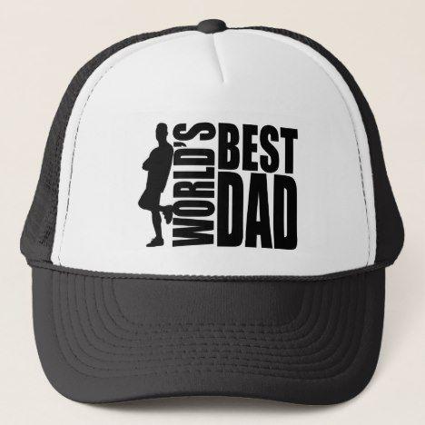 e4745c7dd World's Best Dad Hat | Zazzle.com | Hats - All sorts | Cool dad hats ...