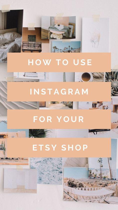 Using Instagram for Etsy Sellers