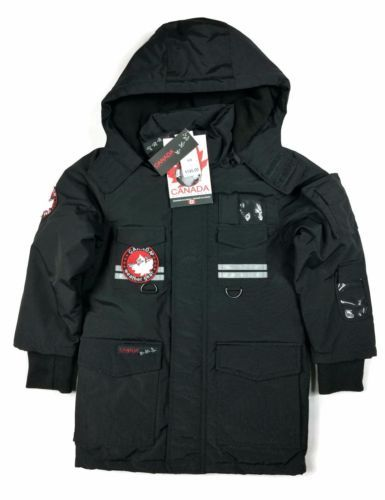 Canada Weather Gear Boy Jacket Size 5 6y Youth Triple Goose Heavy Black Boys Jacket Jackets Winter Jackets