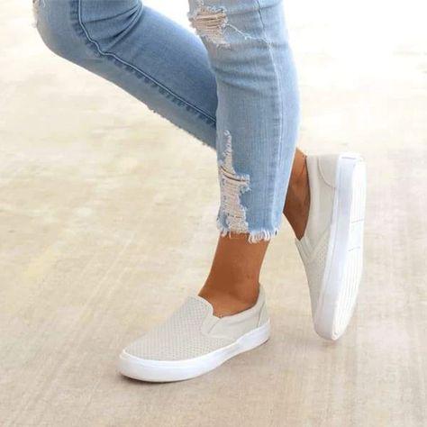 Slip On Running Flats - Schuhe - shoes